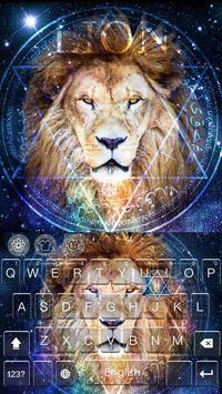 King Lion(Leo) Keyboard Theme screenshot 3