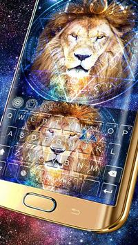 King Lion(Leo) Keyboard Theme poster