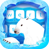 Ice Arctic keyboard icon