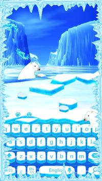 Ice Arctic keyboard poster