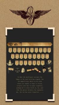 Elegant Black Gold Kraft Letters Bar Theme Club poster