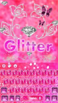 Stylish Shiny pink Glitter Keypad apk screenshot