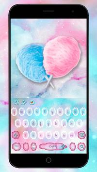 Sweet Cotton Candy keypad poster