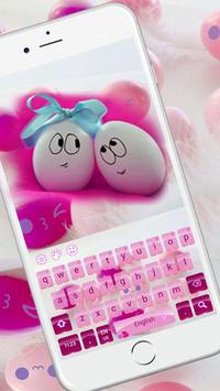 Cute Pink Smiles Keypad screenshot 1