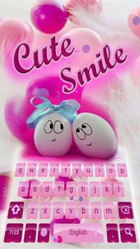 Cute Pink Smiles Keypad screenshot 2