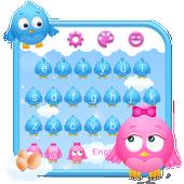 Cute Birds Keyboard Theme icon
