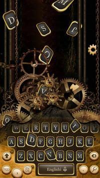 Age Of Steam Engine Metal Gear Cool Keyboard Theme screenshot 1
