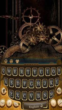 Age Of Steam Engine Metal Gear Cool Keyboard Theme screenshot 2