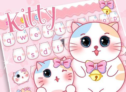 Pink Cute kitty apk screenshot