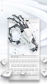 Mechanical silver keyboard poster