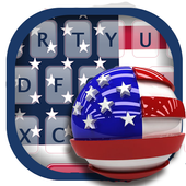 The Statue Of Liberty Of America Flag Keyboard icon