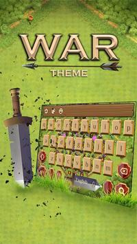 Fight War field Keyboard apk screenshot