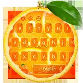 Fresh Orange Typewriter icon