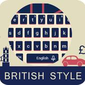 British Big Ben Classic Flag Keyboard London Theme icon