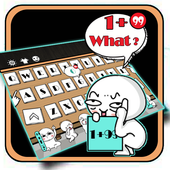Lively And Lovely Chat Active Emoji Keyboard Theme icon