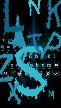 Keyboard Hell Ghost Demon Huge Theme apk screenshot
