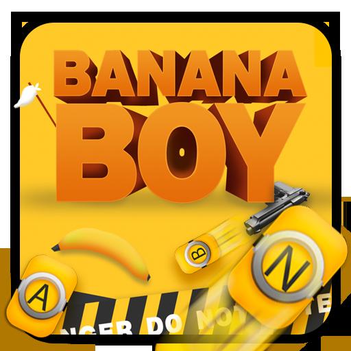 Yellow Banana Keyboard Theme