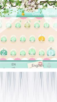 Pink Sweet Cupcake  Park Keyboard Theme poster