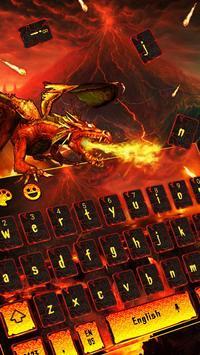 Floor is Lava Space Keyboard poster