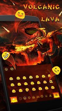 Floor is Lava Space Keyboard apk screenshot
