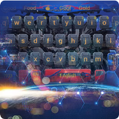 Automobile robot High-tech network keyboard icon