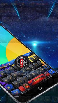 Automobile robot High-tech network keyboard apk screenshot
