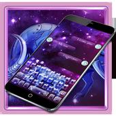 Purple Taurus Constellation Warrior Keyboard Theme icon