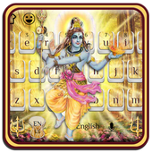 Shiva Keyboard theme with Music icon