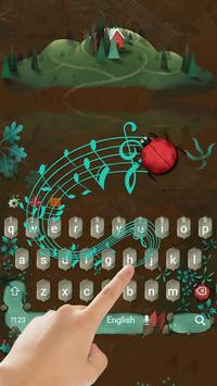 Red Lake Keyboard Theme poster