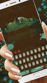 Red Lake Keyboard Theme apk screenshot