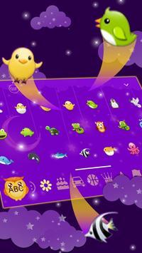 Fluorescent Moonlight owl keyboard screenshot 1