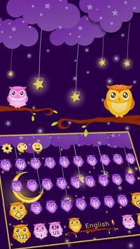 Fluorescent Moonlight owl keyboard screenshot 2