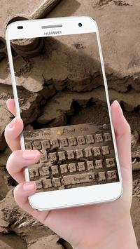 Dirt keyboard ocks worn theme out keyboard apk screenshot