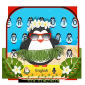 Cute Penguin Keyboard Theme icon