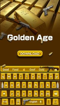 Golden Age Keyboard Theme poster