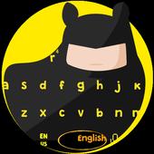 Bat Knight Keyboard Theme icon