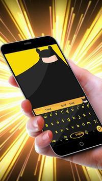 Bat Knight Keyboard Theme poster
