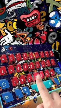 Graffiti Rock music keyboard apk screenshot