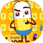 Cute Pills Against The Virus Keyboard Theme icon