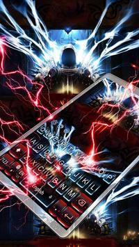 Red Demon Keyboard Theme poster