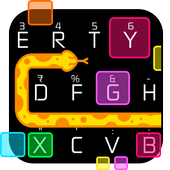 Snake Color Box Keyboard Theme icon