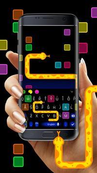 Snake Color Box Keyboard Theme screenshot 2