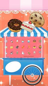 Divine Delicious Cupcakes Keyboard Theme 2D screenshot 2