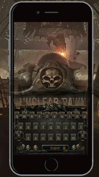 Skull Army keyboard weapons bullets  Arms theme apk screenshot