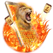 Hell Fire Lion Keyboard Theme icon