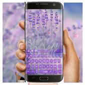 Purple Lavender Love Keyboard icon