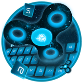 Neon Fidget Spinner Space Theme icon