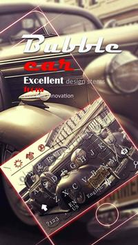 beat-up carr theme  vintage cars jalopy keyboard apk screenshot