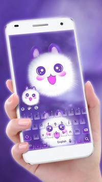 Cute Kitty Kawaii-Keyboard apk screenshot
