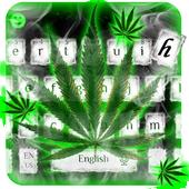 Weed Rasta Smoke Keyboard icon